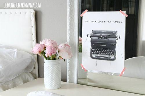 Lemonade typewriter