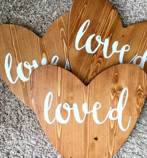 final wooden heart